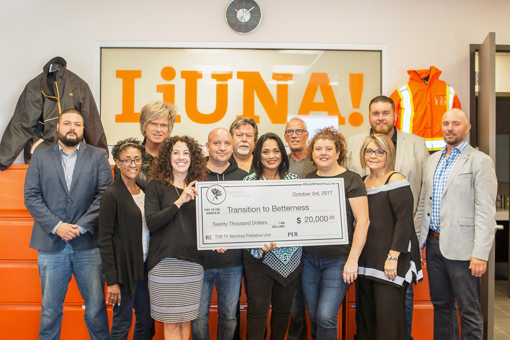 Liuna! Bluesfest Gives Back