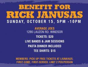 Rick Janusas Benefit