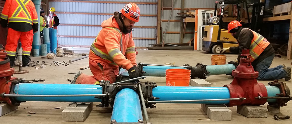 CCWII Watermain Training Header