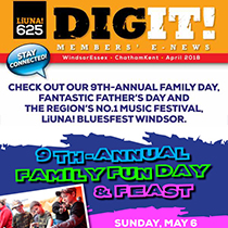 Dig It April 29th 2018